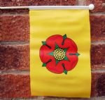 LANCASHIRE (NEW) - HAND WAVING FLAG (MEDIUM)
